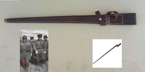 WWI WWII Russian Mosin Nagant 91/30 Bayonet leather scabbard