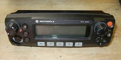 Motorola Xtl2500 Two Way Radio Control Head Hln1468b Very Nice