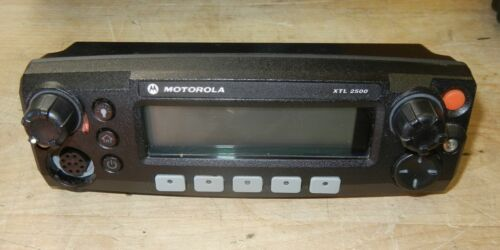 Motorola XTL2500 Two Radio Control Head  HLN1468B