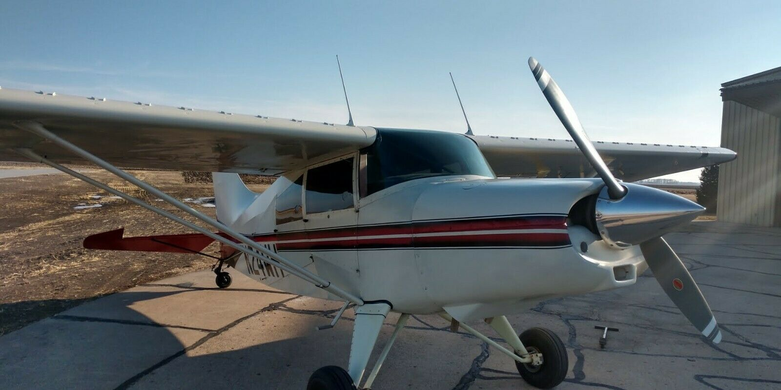Airplane 1984 Maule M5-180C Rocket Good condition. Maintained by owner mechanic.