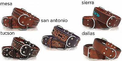 Leather Dog Collar - Size 16