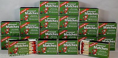 Waterproof Matches 20 Boxes Of 40  Over 800 Matches Cannot Light Accidentally