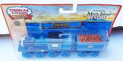 FERDINAND w//Tender NEW Fisher Price Thomas /& Friends Wooden Railway Y4380