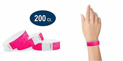 200 Paper Event Numbered Wristbands 10