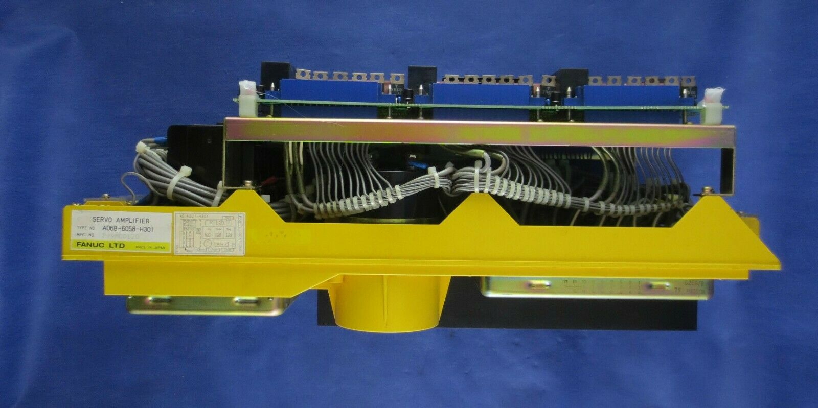REPAIR/EXCHANGE SERVICE FANUC A06B-6058-H301 AC SERVO AMPLIFIER. WARRANTY - $1,699.00