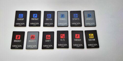12 pcs x Minolta Customized Function / Intelligent Card for 7xi, 8700i, 7700i