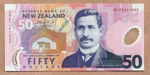 NEW ZEALAND - 50 DOLLARS - ND2007 - P188b - UNCIRCULATED