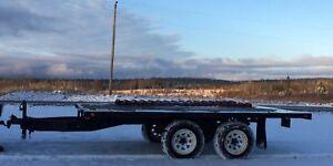 7000 lbs 8' x 12' flat bed trailer
