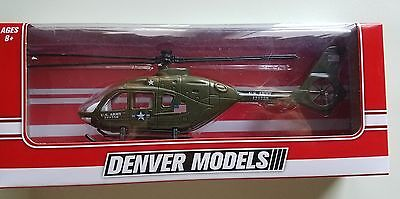 denver models u.s.army helicopter use with lionel  o gauge new in box