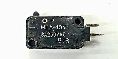 Mulon Mla-10n Spst- Off-on Micro Switch 3a 250v Ac