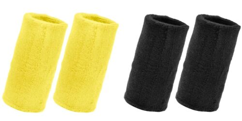 GOGO  6 Inch Thick Wristband  Long Terry Cloth Sports Sweatband
