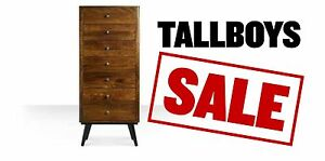 TALLBOYS - HUGE CLEARANCE - FACTORY SECONDS 50% - 80 % OFF Granville Parramatta Area Preview