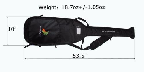 Z&J SPORT High Quality Black Paddle Bag for Dragon Boat Paddle