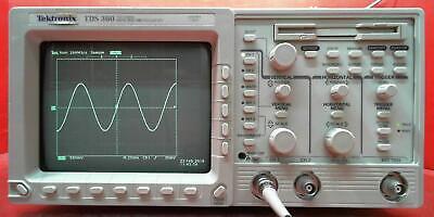 Tektronix Tds360 B014687 200mhz 2ch 1gss Oscilloscope