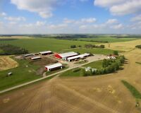 Aerial Photography and Video in Southern Alberta