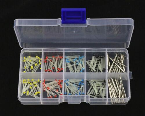 Dental Fiber Post Glass Quartz Teeth Restorative 1.2 1.4 1.6 1.8mm Posts + Drill
