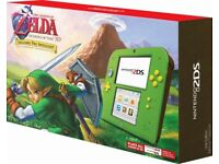 (Brand New) Nintendo 2DS Zelda Limited Edition