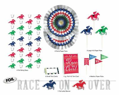 Derby Day Horse Race Kentucky Sports Racing Theme Party Bar Decorating Kit](Horse Theme Party Supplies)