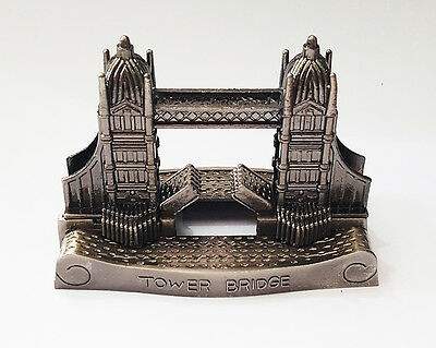 New London Die Cast Tower Bridge Gift Metal Model Pencil Sharpener Souvenir UK