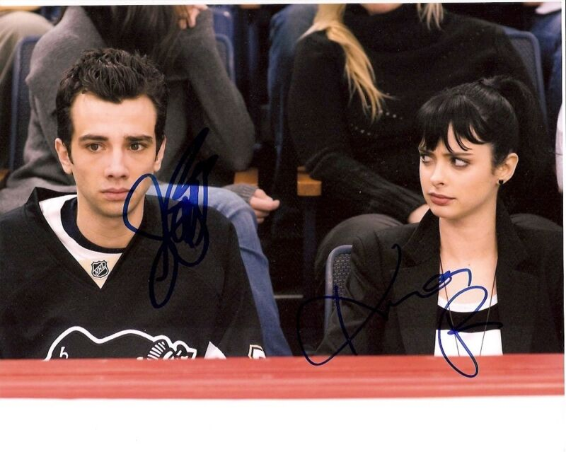 JAY BARUCHEL KRYSTEN RITTER DUAL SIGNED SHES OUT OF MY LEAGUE 8X10 PHOTO w/COA