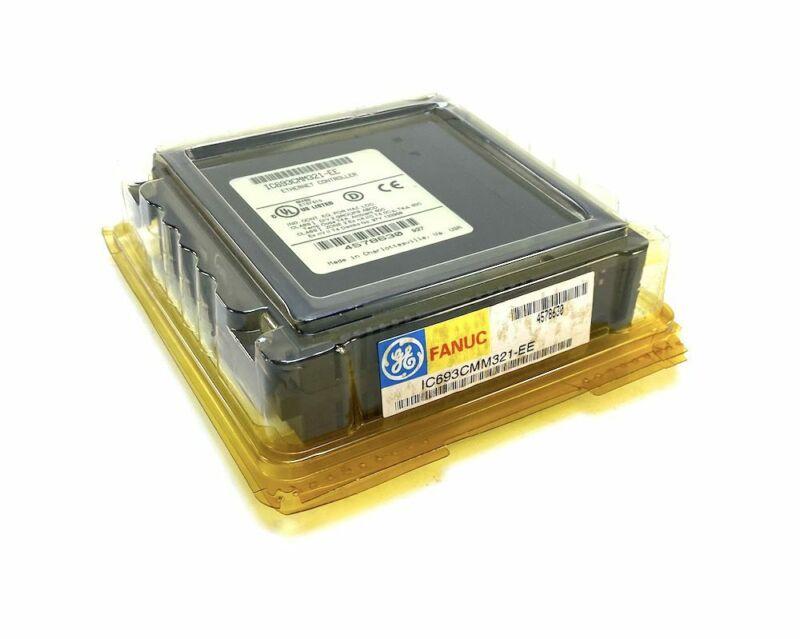 General Electric IC693CMM321-EE Fanuc Ethernet Controller (NIB)