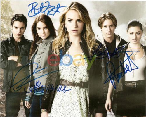 Secret Circle Signed Cast Autographed 8x10 Photo reprint