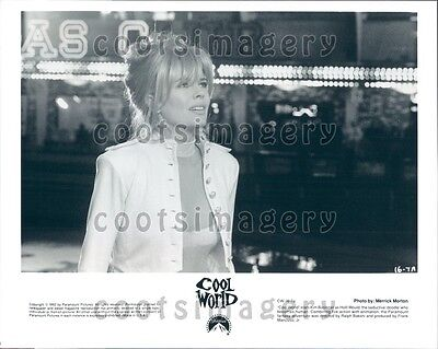 1992 Pretty Actress Kim Basinger In Cool World Press Photo
