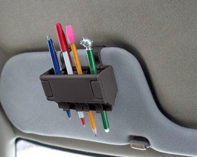 Pen Grip Holder Organizer Brush Car Storage Clips School Lockers Desk Office New