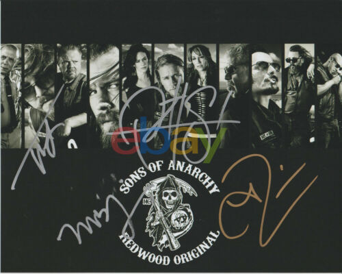 SONS OF ANARCHY Cast Autographed 8x10 Photo signed reprint