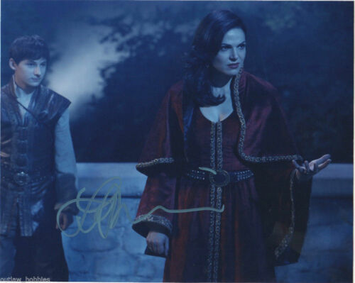 Lana Parrilla Once Upon A Time Autographed Signed 8x10 Photo COA #22