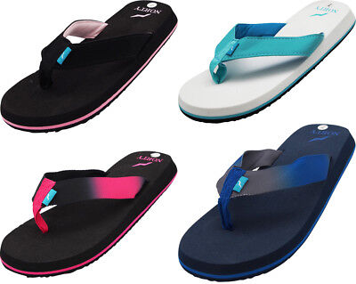 Norty Women's Platform Soft Cushioned Footbed Flip Flop Thong Sandal