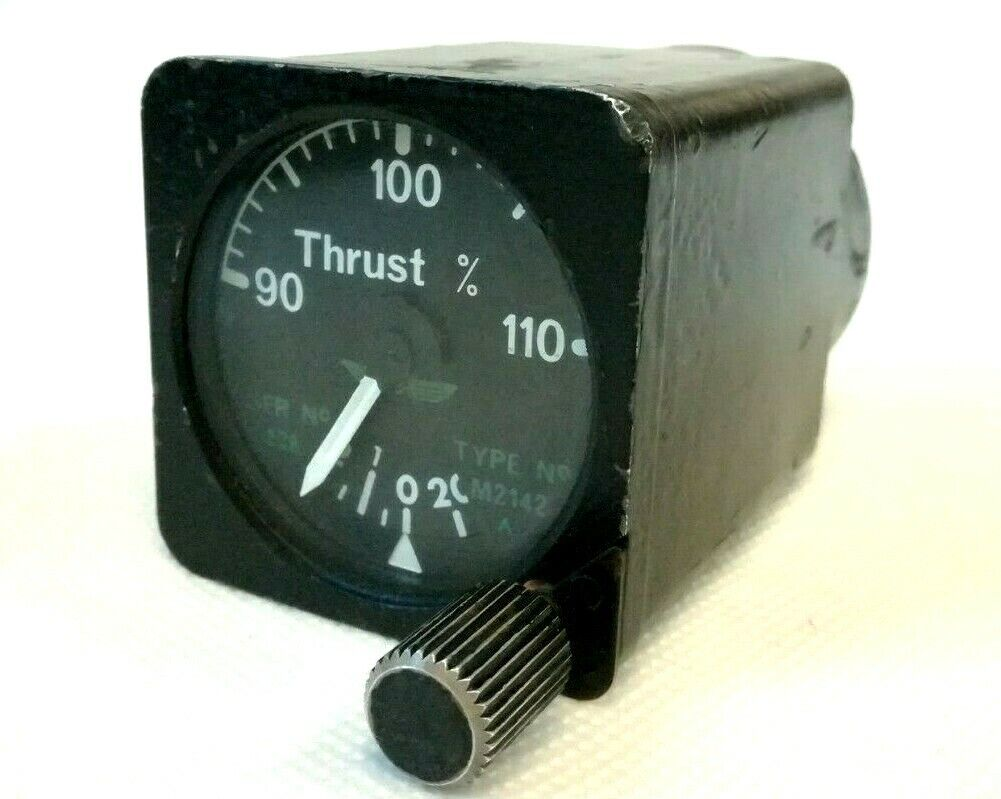 Aircraft Thrust Indicator Type M2142 Not Tested
