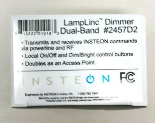 Insteon 2457D2 LampLinc Plug-In Lamp Dimmer Module