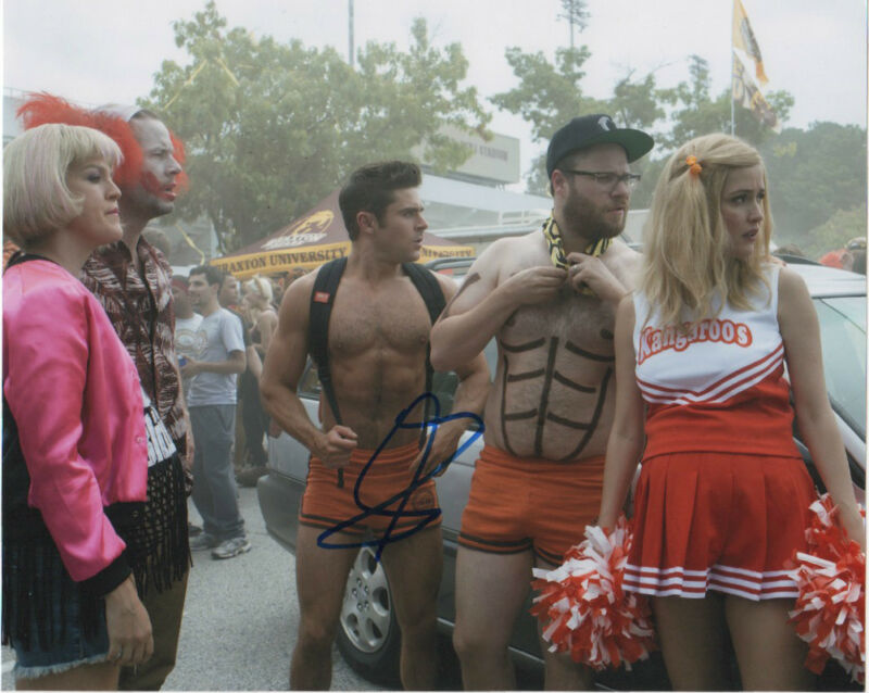 Seth Rogen Neigbors Autographed Signed 8x10 Photo COA