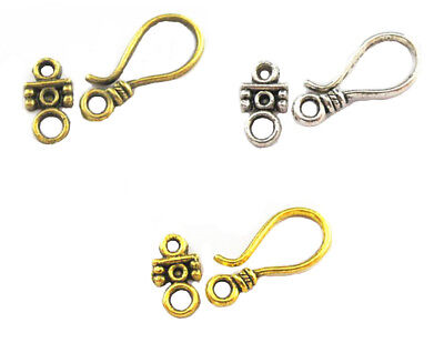 90Set Retro Antique Metal Alloy Tigger Clasp for Jewelry Making Necklace DIY - Clasps For Jewelry Making