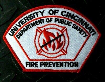 OHIO UNIVERSITY OF CINCINNATI FIRE PREVENTION PUBLIC SAFETY PATCH UNUSED
