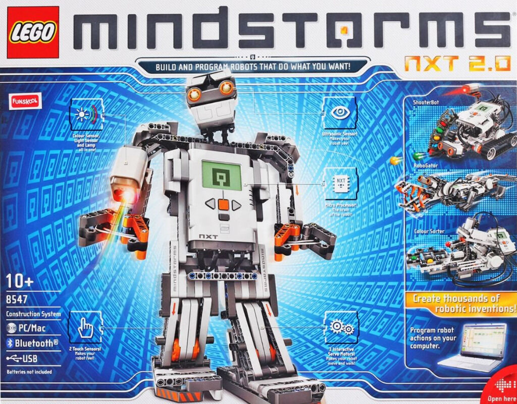 Robot lego nxt brickset