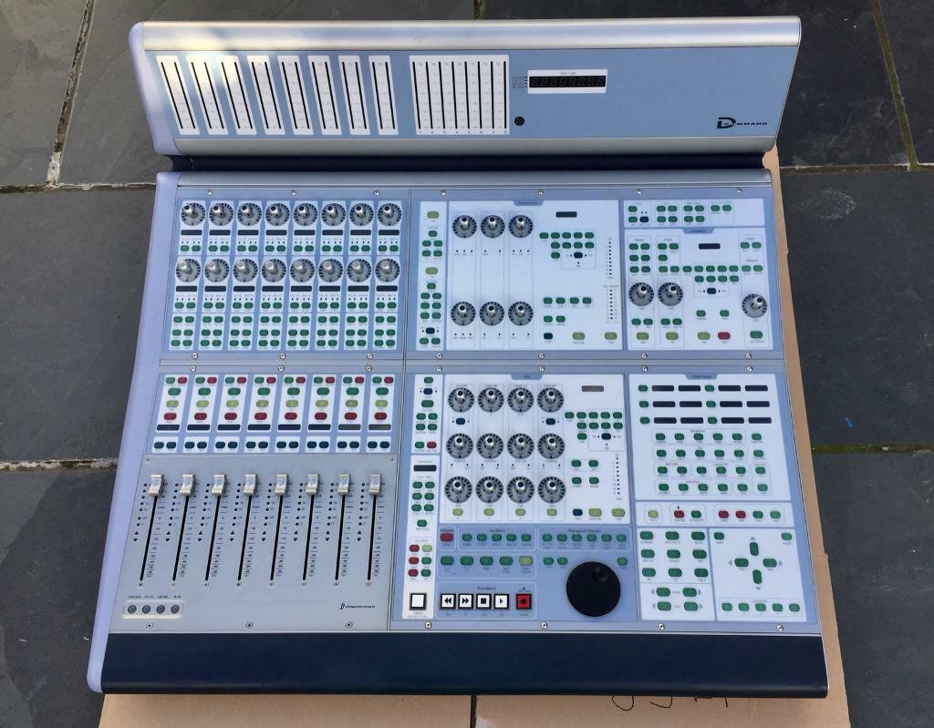 Digidesign-Avid-D-Command-ICON-Main-Module-ProTools-Controller-2