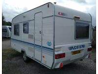 Adria Altea Fixed Bed 2 to 4 berth Caravan for Sale