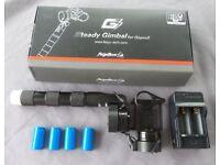 Feiyu G3 Stabilisor for GoPro 3 or other cameras.