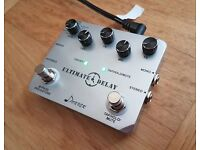 Donner Ultimate Delay Stereo Guitar Effect Pedal for electric guitars