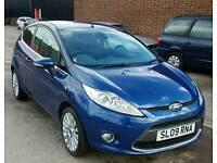 2009 Ford Fiesta 1.4 Titanium 3 Door Automatic Petrol Blue *NEW MOT* *TOP SPEC*