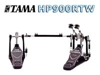 TAMA IRON COBRA Rolling Glide DOUBLE pedal set boxed almost new HP900RTW