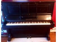 C. Bechstein Upright Piano Serial Number 78826 - Working Condition - 1901-1910