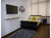 Studio flat in Lennon House - Premium - Student Accommodation - Bradford University Studios