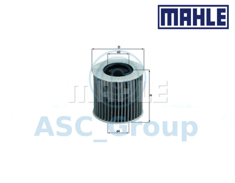 Genuine MAHLE Replacement Engine Oil Filter Insert OX 414D1 OX414D1