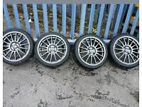 "17"" super turismo alloy wheels"