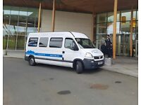 Minibus Hire With Driver Birmingham For All Occasions 8, 10 , 12 & 16 Seater Minibuses Available