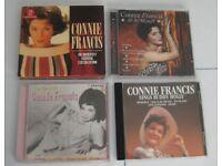JOB LOT 4 CONNIE FRANCIS CD ALBUMS