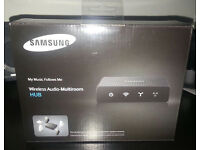BRAND NEW SEALED SAMSUNG WAM250 Black Wireless WAM Hub rrp £50